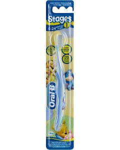 Oral-B Stage 1 Zahnbürste Kinder 4-24 Monate