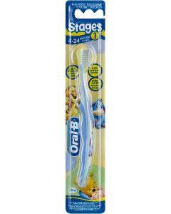 Oral-B Stage 1 Zahnbürste Kinder 4-24 Monate