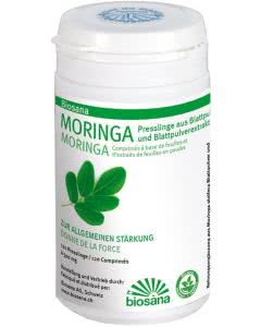 Biosana Moringa Presslinge Tabletten - 120 Stk.
