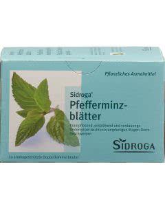 Sidroga Pfefferminzblätter - 20 Stk.