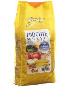 Zwicky Früchtemüesli - 750g