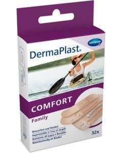 DermaPlast comfort Family assortiert - 32 Strips in 3 Grössen