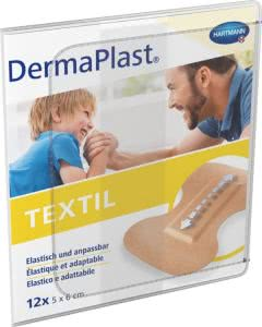 DermaPlast Textil Fingerspitzenverband - 12 Stk.