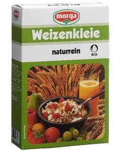 Morga Bio Weizenkleie naturrein Knospe - 250g