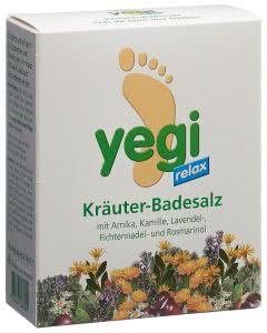 Yegi Relax Kräuter Fussbadesalz - 4 Stk.
