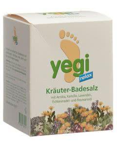 Yegi Relax Kräuter Fussbadesalz - 8 Stk.