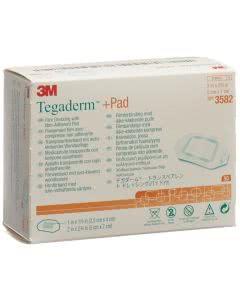 3M Tegaderm + Pad, Wundkissen - 2.5 x 4.0cm - 50 Stk.