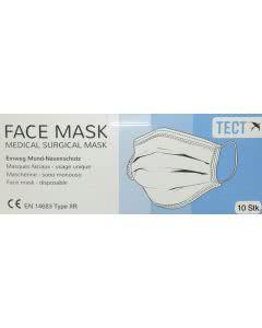 Medizinische Hygiene/Grippe-Schutzmasken Typ-II Ohr-Schlaufen - 10Stk.