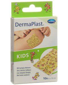 DermaPlast KIDS Schnellverband 6x10cm - 10 Stk.