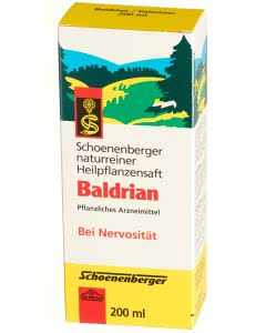Schoenenberger Baldrian Heilpflanzensaft - 200ml