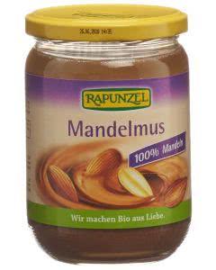 Rapunzel Mandelmus braun Bio Glas - 500g
