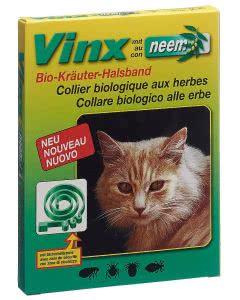 Vinx Neem Kräuter Halsband 35cm Katze grün Bio - 1 Stk.
