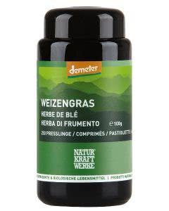 Naturkraftwerke Weizengras Pulver Demeter Presslinge - 250 Stk.