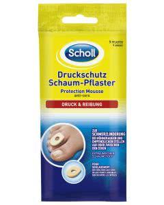 Scholl Druckschutz Schaum Pflaster - 9 Stk