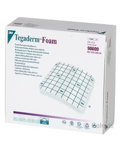 3M Tegaderm Foam Adhesive, oval - 5.1 x 5.1cm - 10 Stk.