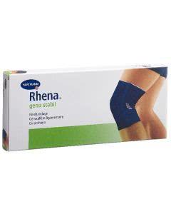 Rhena Genu Stabil Kniebandage Gr1 blau