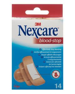 3M Nexcare Pflaster Blood Stop Grössen assortiert - 14 Stk.
