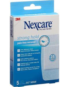 3M Nexcare Strong Hold 360° Maxi - 50 x 100mm - 5 Stk.