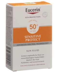 Eucerin Sensitiv Protect Sun Fluid LSF 50+ - 50ml