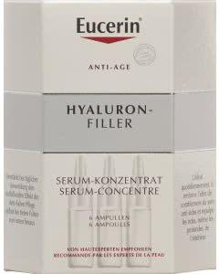 Eucerin Hyaluron-Filler Serum-Konzentrat - 6 x 5ml