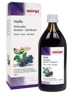 Morga Holle Holundersirup mit Honig - 380ml