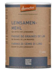 Naturkraftwerke Leinsamenmehl Demeter - 300g
