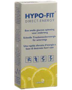 Hypo-Fit Flüssigzucker Lemon Beutel - 12 Stk.