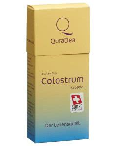 Quradea Kuh Colostrum Original Kapseln Bio past - 60 Stk.