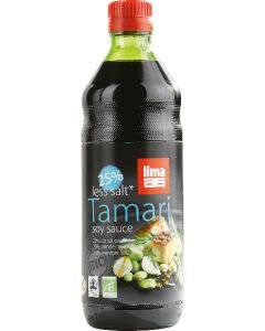 Lima Tamari 25% weniger Salz Flasche - 500ml