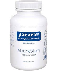 Pure Magnesium (-citrat) - 90 Stk.