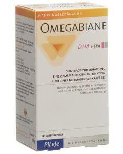 Omegabiane DHA + EPA Kapseln Blist - 80 Stk.