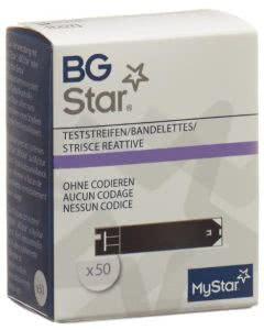 Bg Star Mystar Extra Teststreifen - 50 Stk.