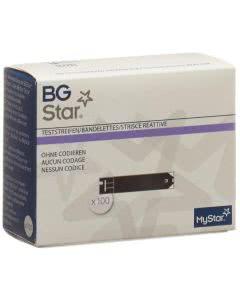 Bg Star Mystar Extra Teststreifen - 100 Stk.
