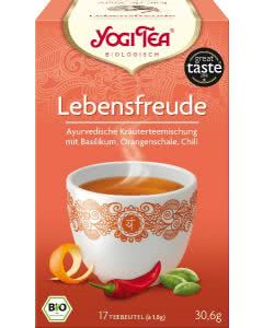 Yogi Tea Lebensfreude Tee - 17x1.8g
