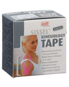 Sissel Kinesiology Sport Tape pink - 5cm x 5m