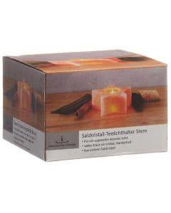 Vitasal Salzkristall Teelicht Stern