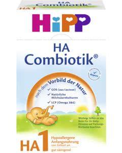 Hipp HA1 Combiotik Säuglingsmilch - 500g