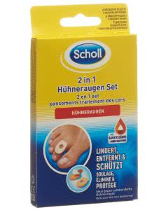Scholl 2 in 1 Hühneraugen Set