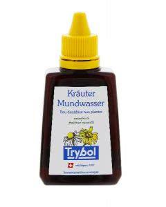 Trybol Kräuter Mundwasser Flasche - 85ml