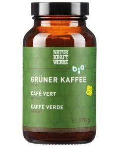 Naturkraftwerke Grüner Kaffee Pulver Bio - 110g