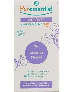 Puressentiel Bio Entspannendes Massageöl Lavendel / Neroli - 100ml