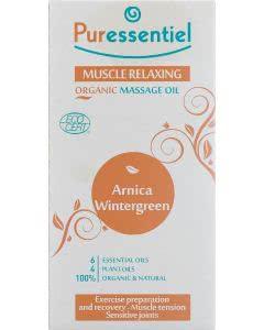 Puressentiel Bio Massageöl Muskelanstrengung Arnika / Wintergreen - 100ml