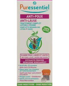 Puressentiel Anti-Läuse Lotion mit Kamm - 100ml