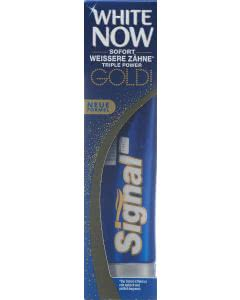 Signal Zahnpasta White Now Gold - 75ml