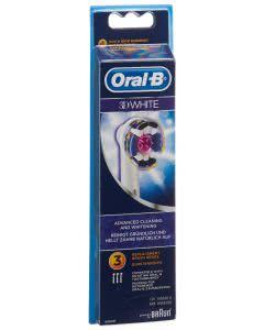 Oral-B Aufsteckbürsten 3D White - 3 Stk.