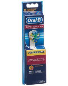 Oral-B Aufsteckbürsten Tiefenreinigung - 5 Stk.
