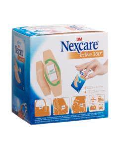 3M Nexcare Pflaster Active 360 Kuvert-Display - 20 Stk.