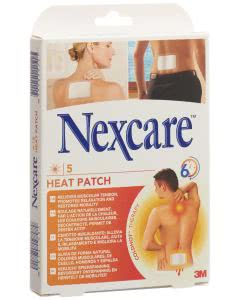 3M Nexcare Heat Pach - 9.5cm x 13cm, 5 Stk.