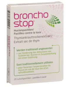 Bronchostop Hustenpastillen Lutschtabletten - 20 Stk.