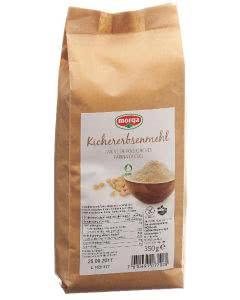 Morga Kichererbsenmehl glutenfrei Bio Knospe - 350g